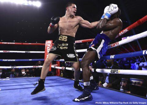 Demond Nicholson, Edgar Berlanga, Emanuel Navarrete - Boxing News