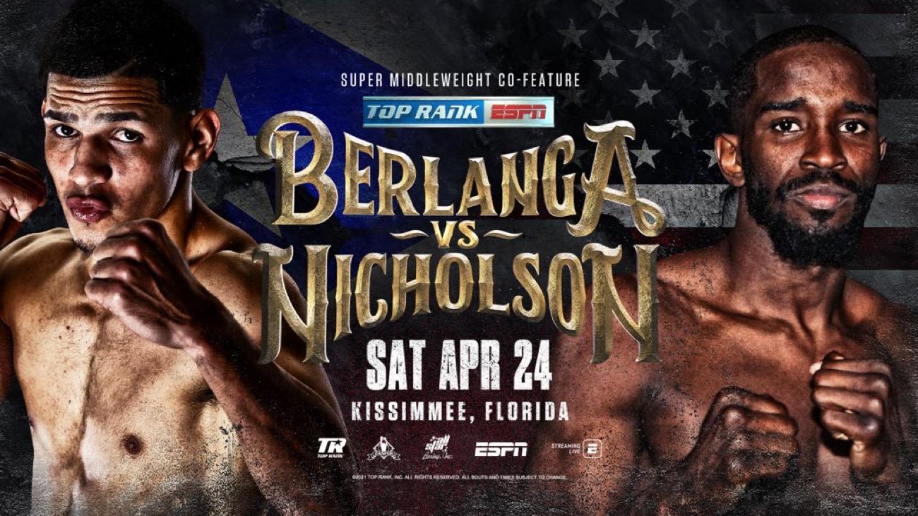 Demond Nicholson, Edgar Berlanga - Boxing Interviews