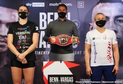 Conor Benn, Ebanie Bridges, Samuel Vargas, Savannah Marshall, Shannon Courtenay - Boxing News