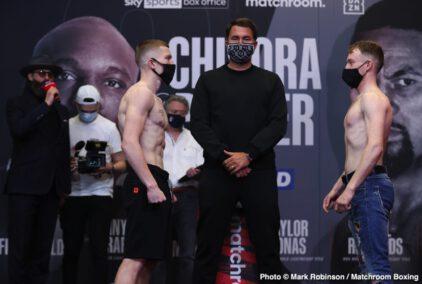 Derek Chisora, Dimitry Bivol, Joseph Parker, Katie Taylor, Natasha Jonas - Boxing News
