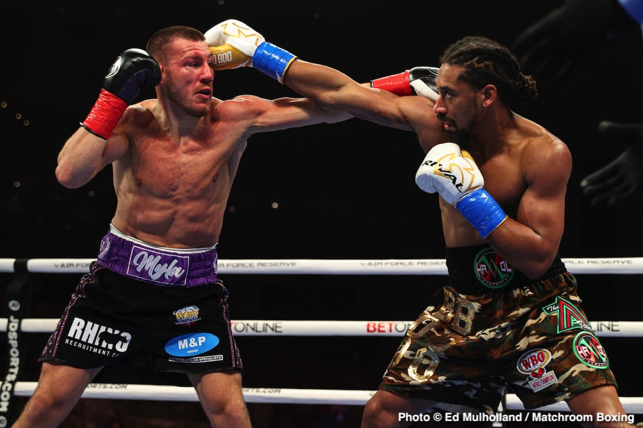 Canelo Alvarez, Demetrius Andrade, Eddie Hearn - Boxing News