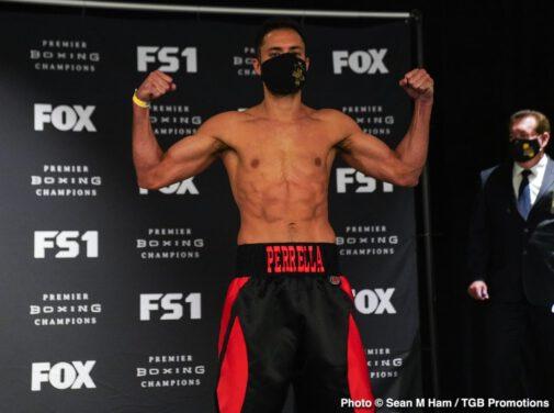 Bryant Perrella, Tony Harrison - Boxing News