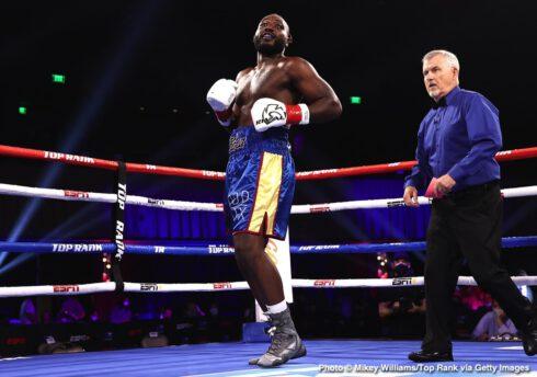 Efe Ajagba, Jared Anderson, Joe Smith Jr., Maxim Vlasov, Trey Lippe-Morrison - Boxing News