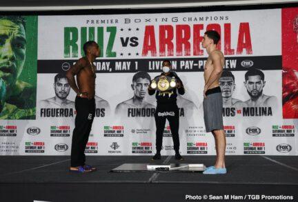 Andy Ruiz Jr, Chris Arreola, Sebastian 'Towering Inferno' Fundora - Boxing News