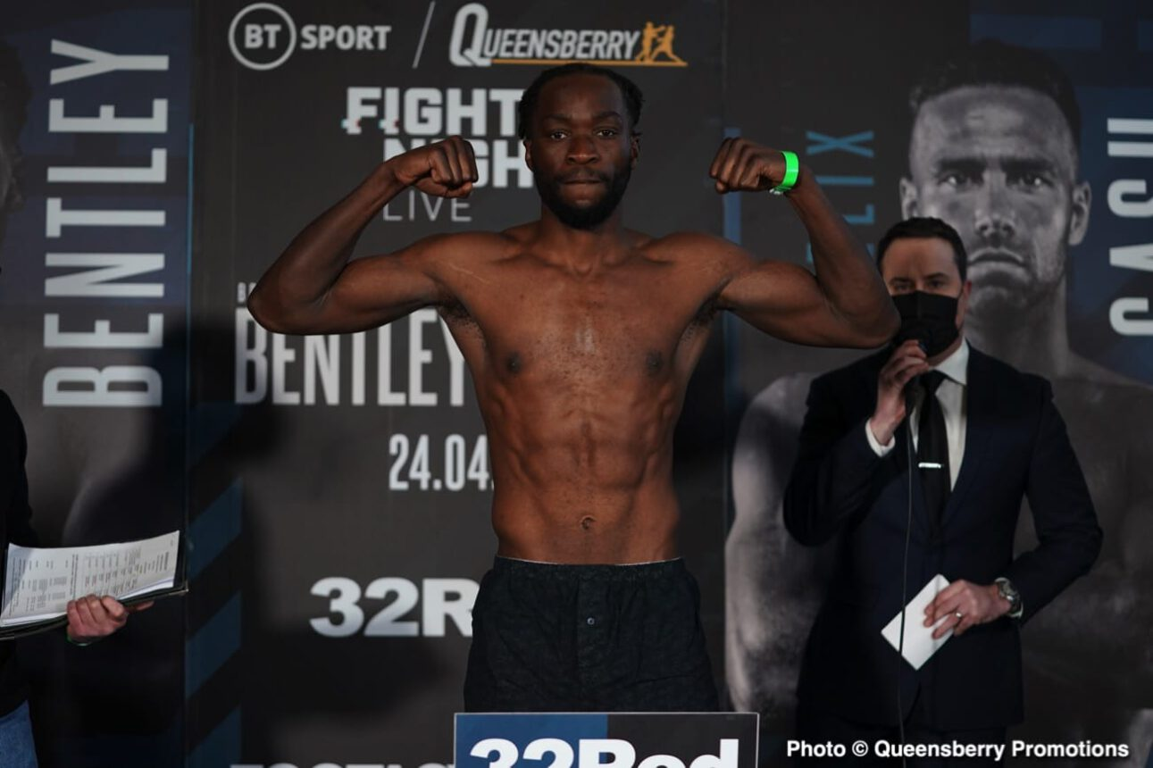 Denzel Bentley, Felix Cash - British Boxing