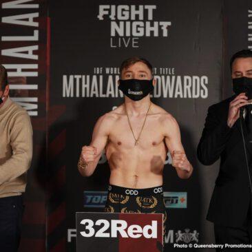 Ionut Baluta, Michael Conlan, Moruti Mthalane, Sunny Edwards - Press Room
