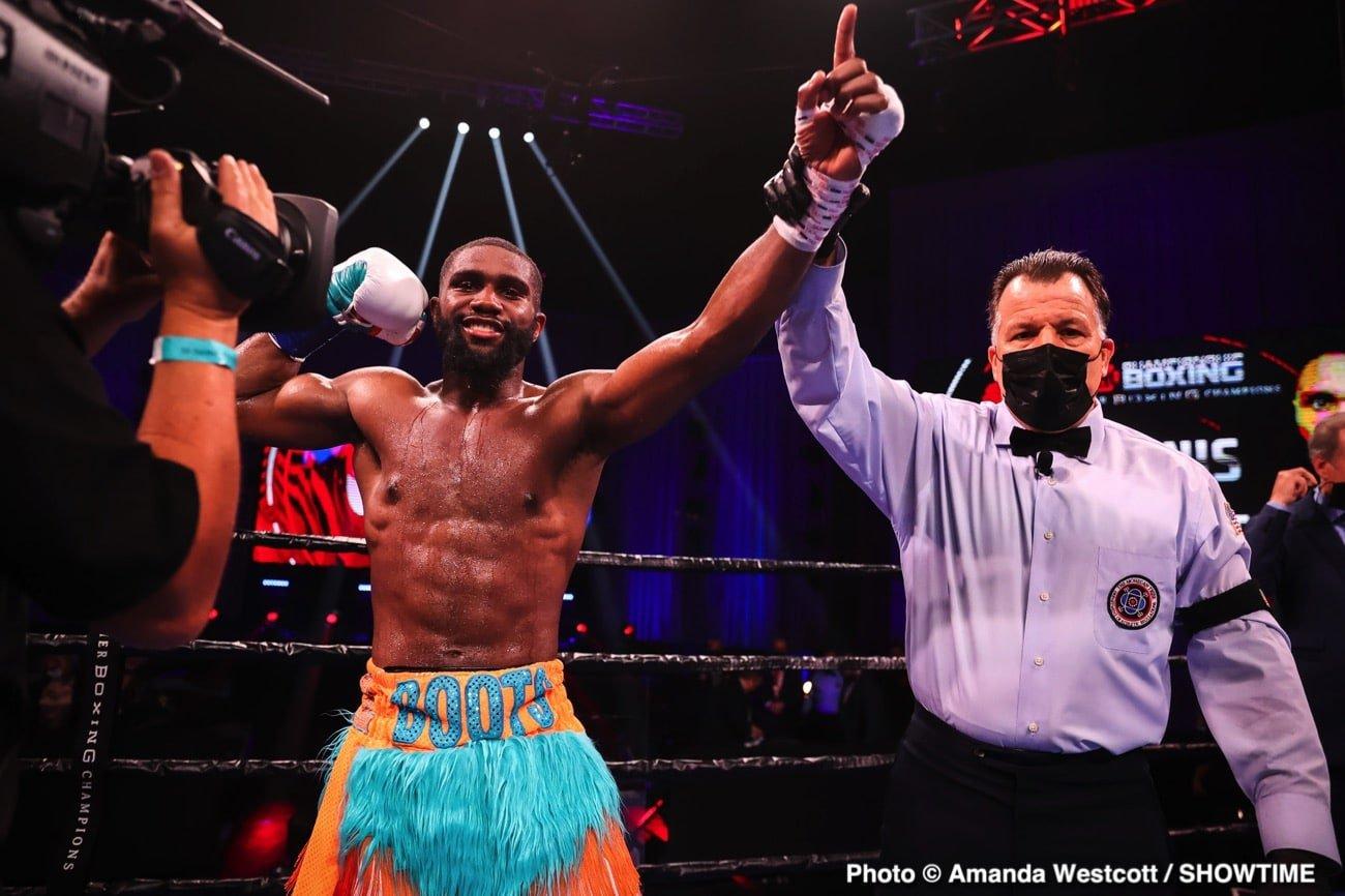 Jaron Ennis, Shawn Porter, Terence Crawford - Boxing News