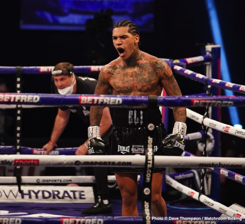 Conor Benn, Ebanie Bridges, Samuel Vargas, Savannah Marshall, Shannon Courtenay - Boxing News