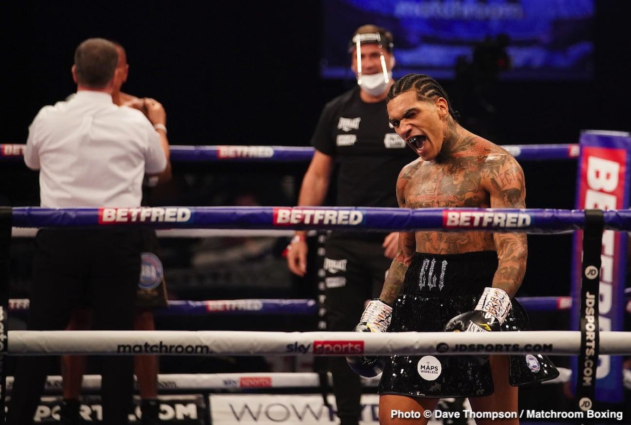 Amir Khan, Conor Benn, Samuel Vargas - Boxing Results