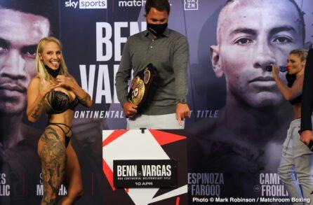 Conor Benn, Samuel Vargas - Boxing News