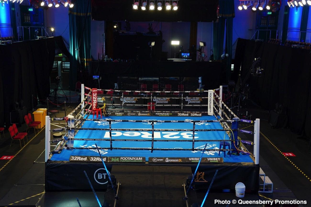 Helaman Olguin, Terrell Jamal Woods - Boxing News