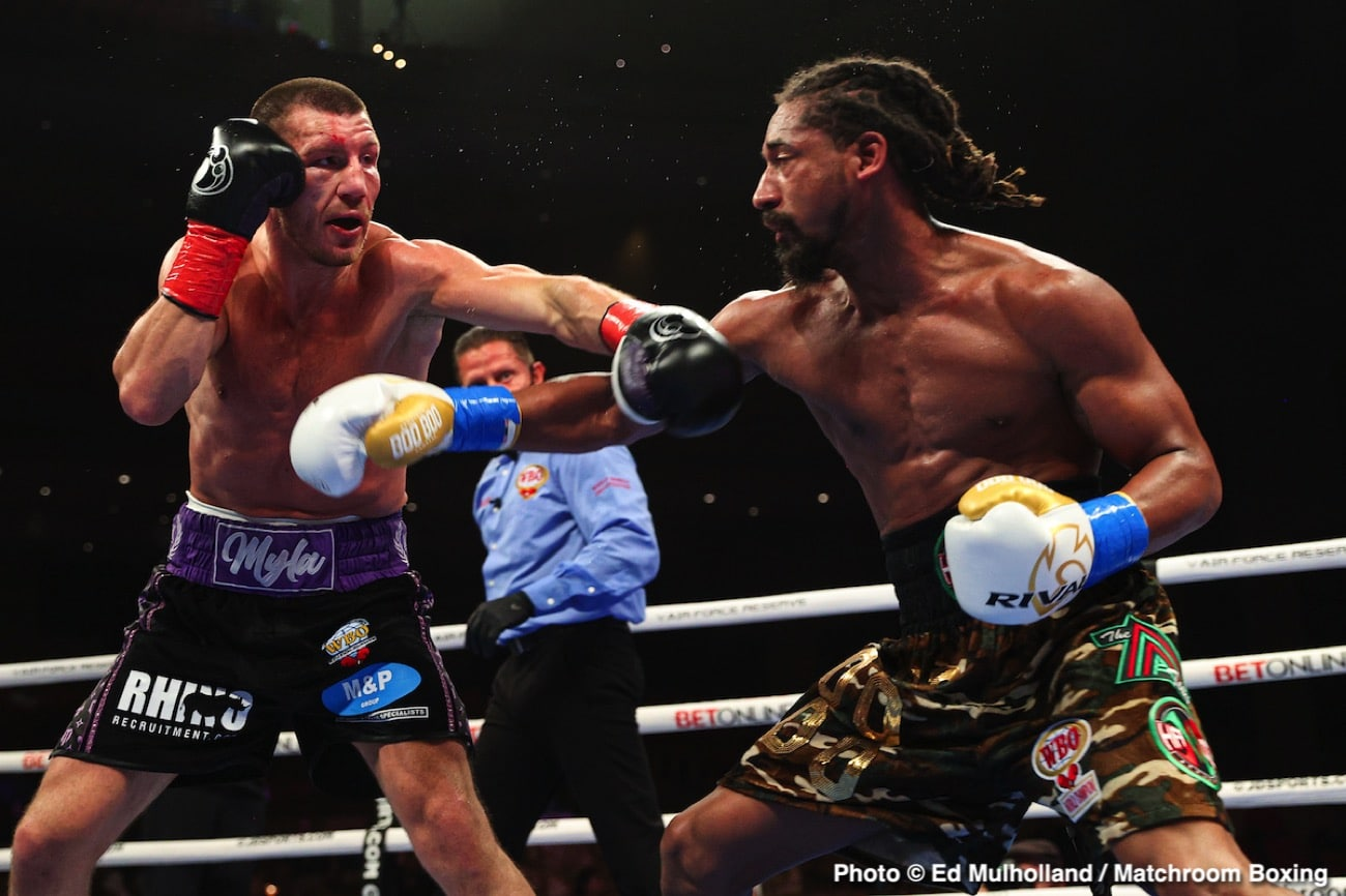 Demetrius Andrade, Liam Williams - Boxing News