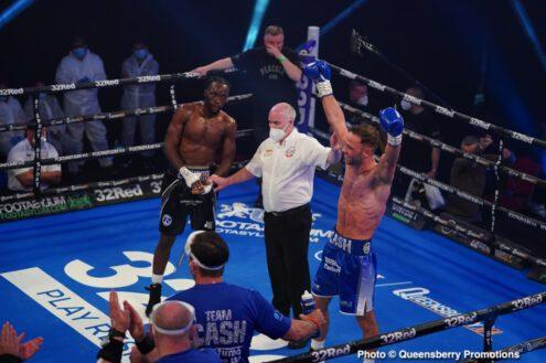 Denzel Bentley, Felix Cash - Boxing News