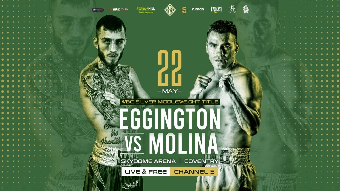 Carlo Molina, Sam Eggington - British Boxing