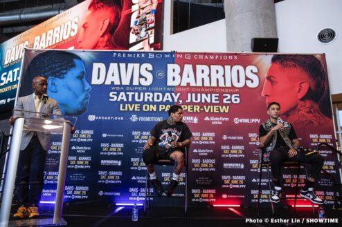Gervonta Davis, Mario Barrios - Boxing News