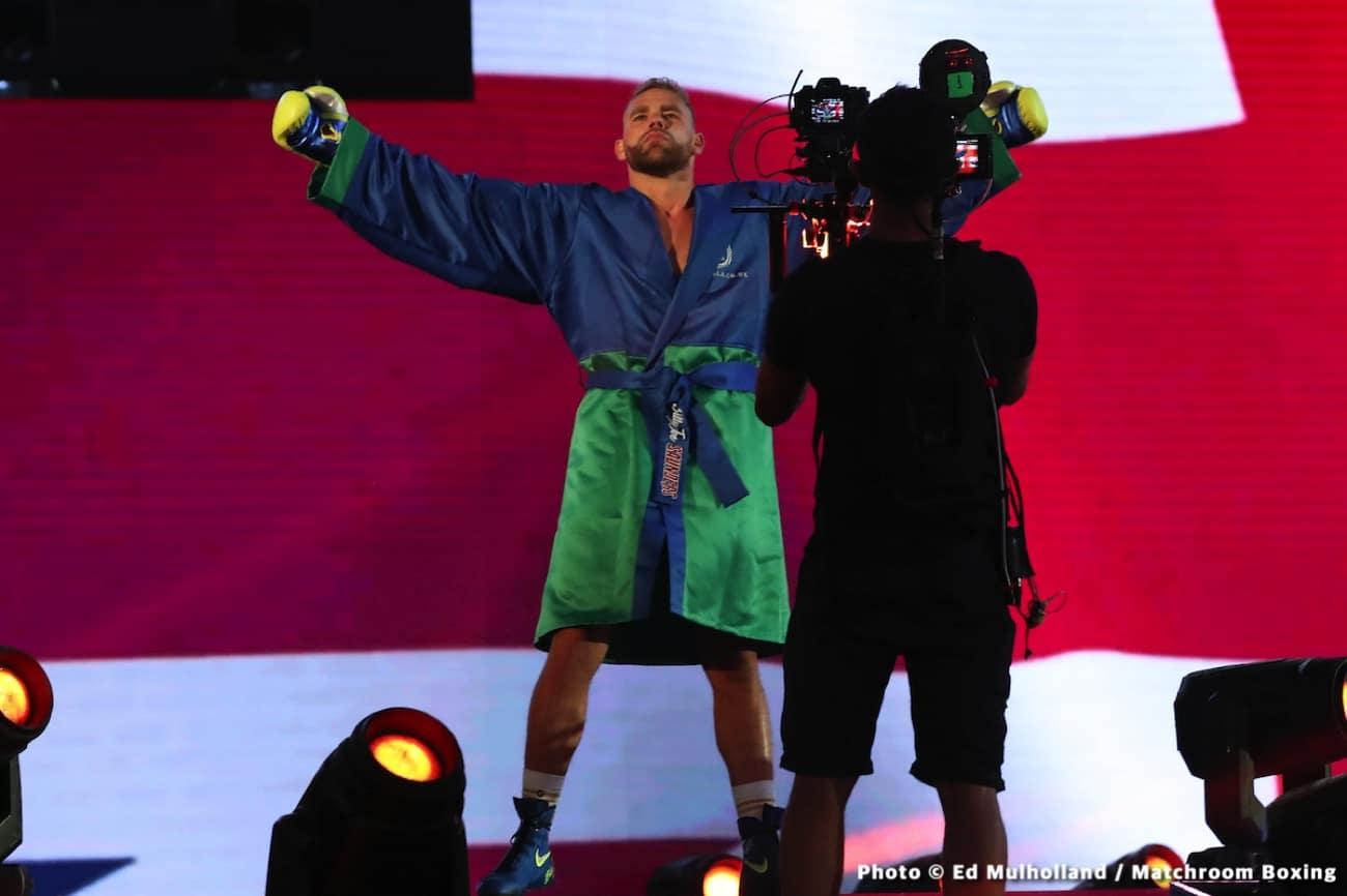Billy Joe Saunders, Canelo Alvarez, Daniel Dos Santos, Joshua Buatsi - Boxing News