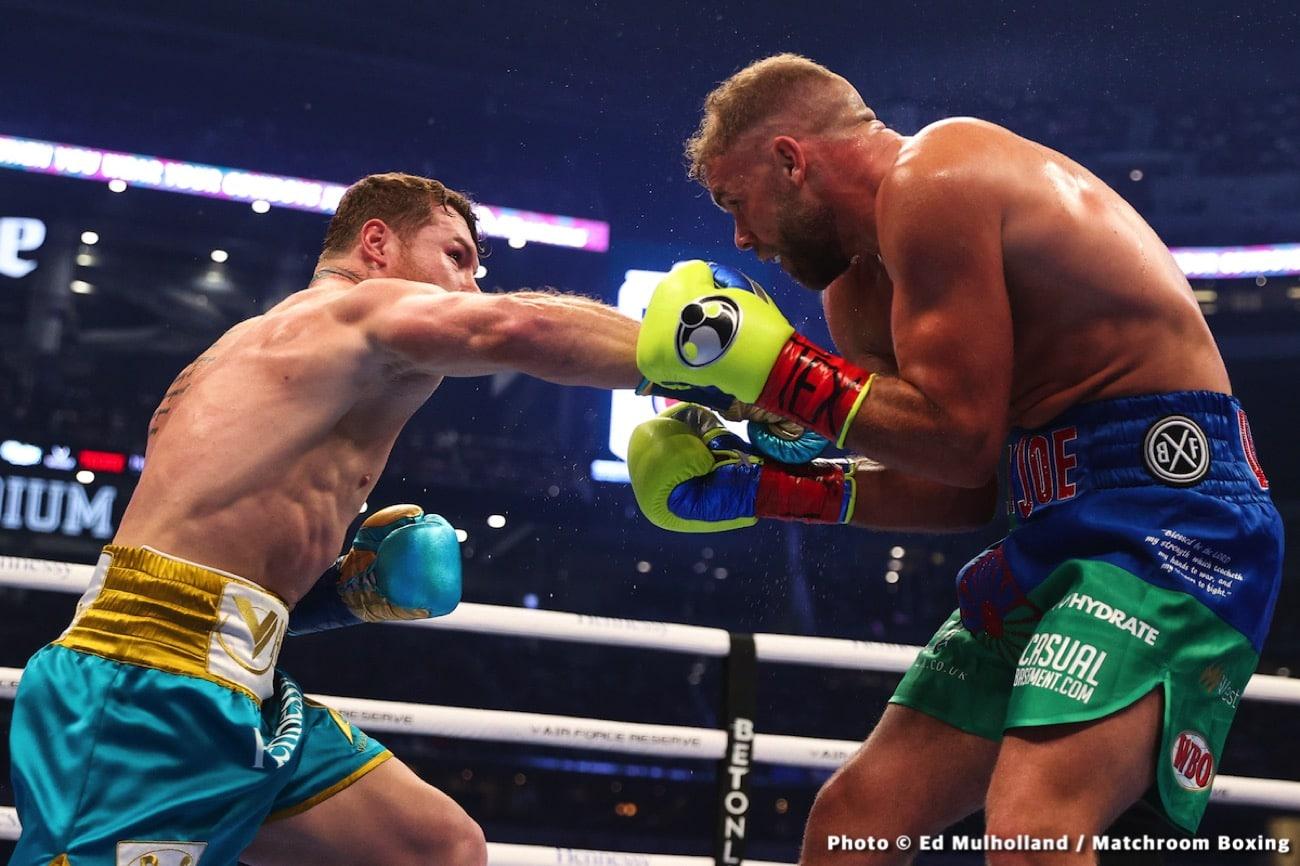 Billy Joe Saunders, Canelo Alvarez, Carl Froch - Boxing News