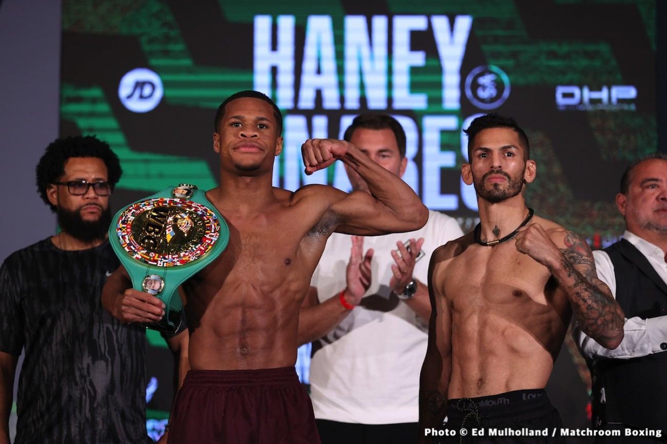 Devin Haney, Jorge Linares, Nonito Donaire, Nordine Oubaali - Boxing News
