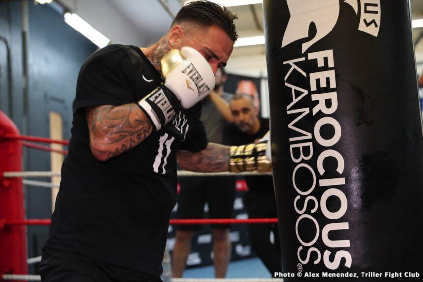 George Kambosos Jr., Teofimo Lopez Jr - Press Room