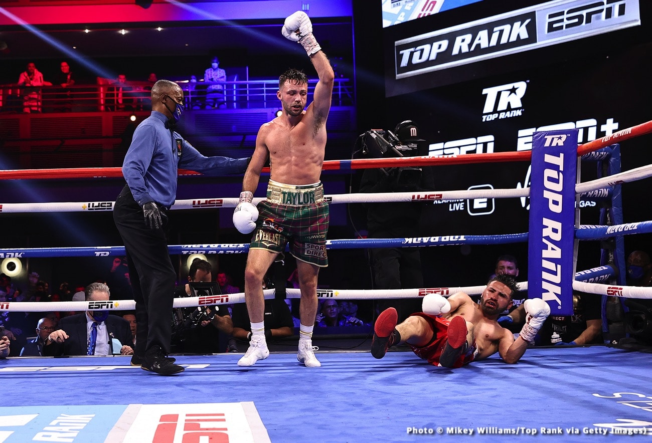 Josh Taylor, Terence Crawford - Boxing News
