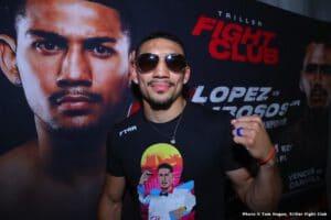Teofimo Lopez wants everybody, but not Lomachenko