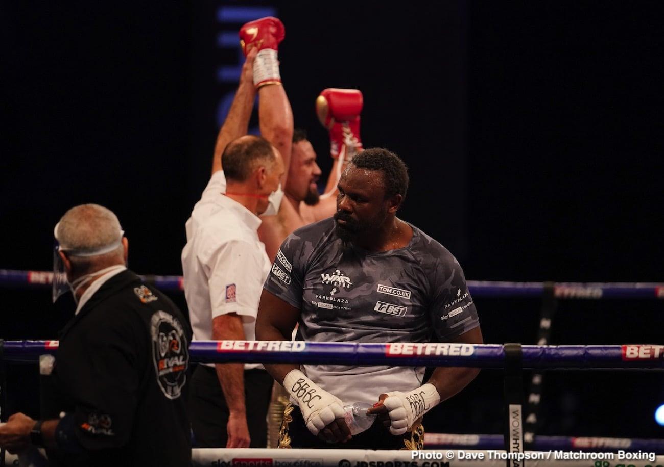 Derek Chisora, Joseph Parker - Boxing News
