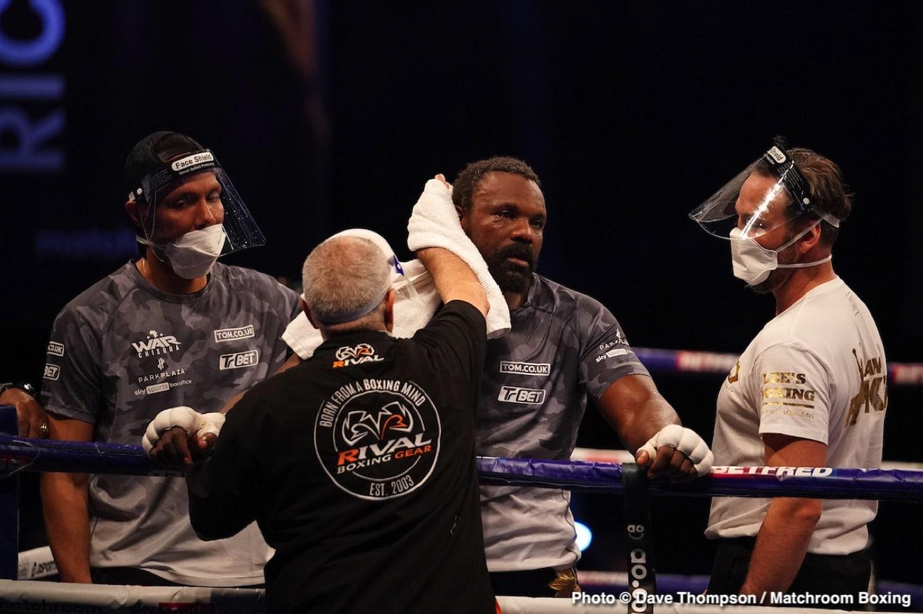 Derek Chisora, Eddie Hearn, Joseph Parker - Boxing News