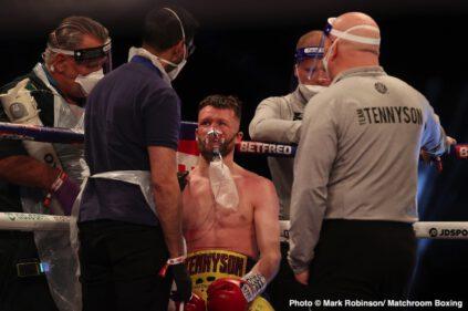James Tennyson, Jovanni Straffon - Boxing News