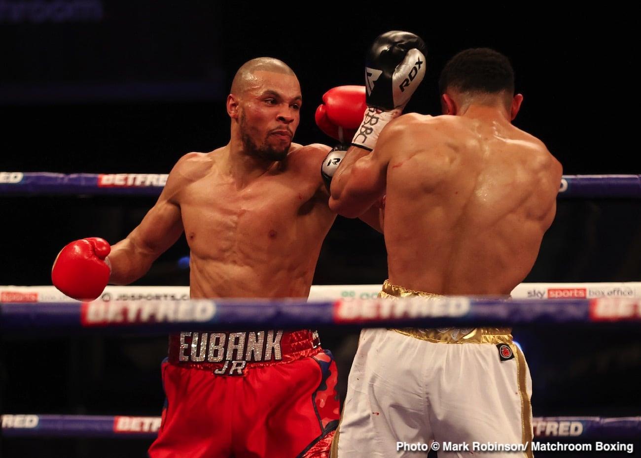 Canelo Alvarez, Chris Eubank Jr - Boxing News