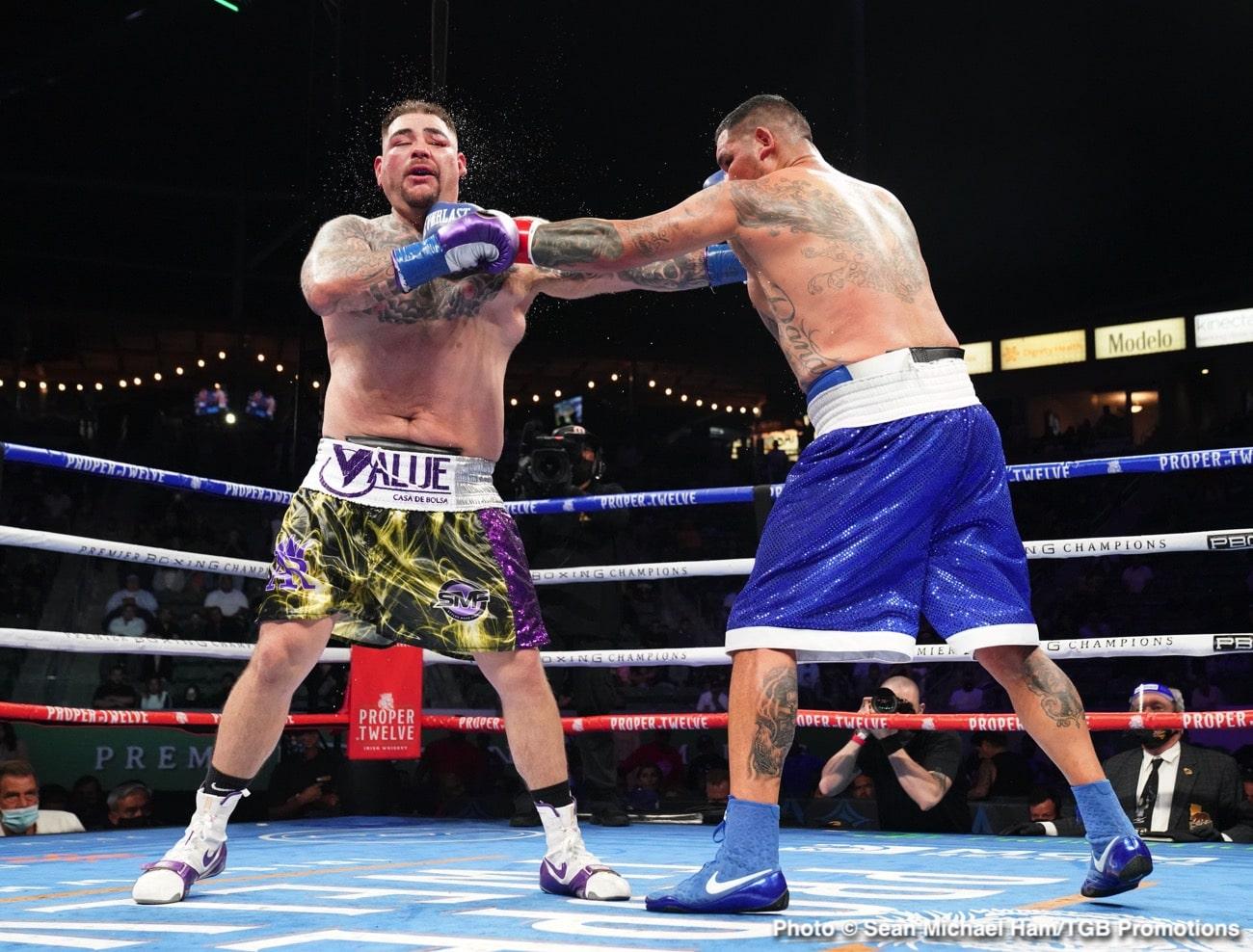 Andy Ruiz Jr, Chris Arreola, Dillian Whyte - Boxing News