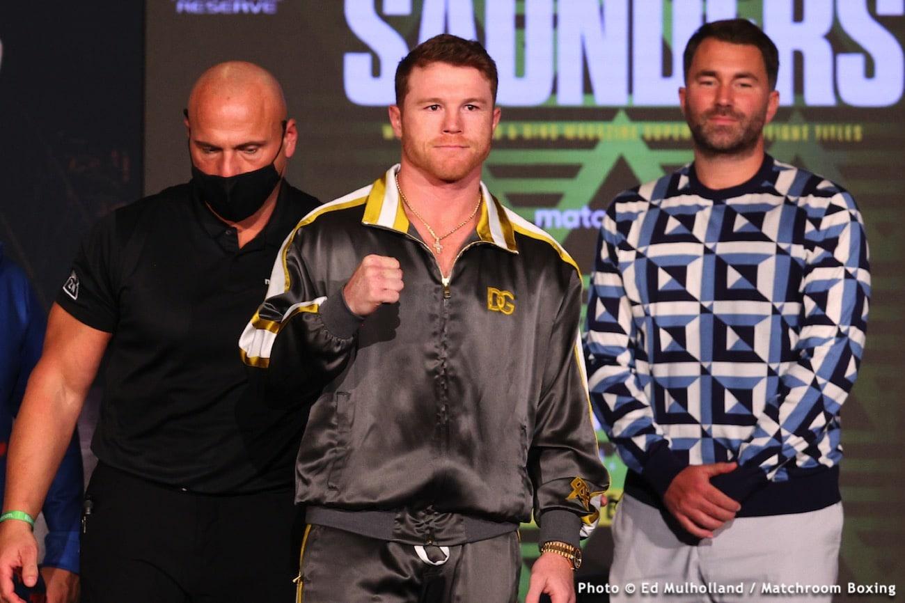 Billy Joe Saunders, Canelo Alvarez, Gennadiy Golovkin - Boxing News