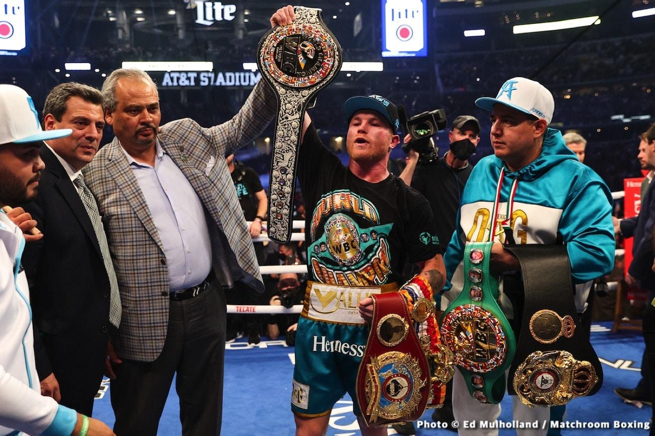 Canelo Alvarez, Demetrius Andrade - Boxing News
