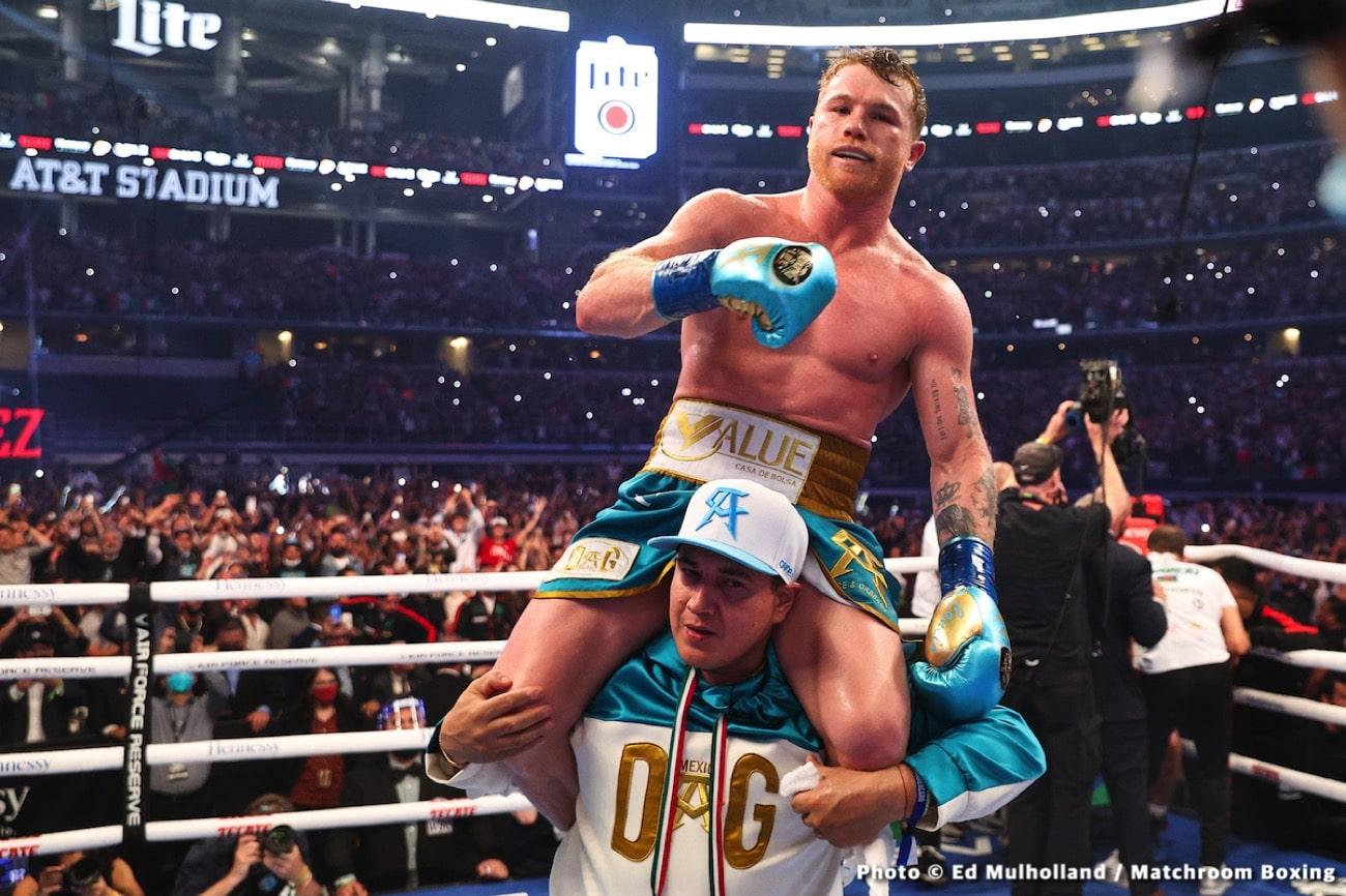 Caleb Plant, Canelo Alvarez, Keith Thurman - Boxing News