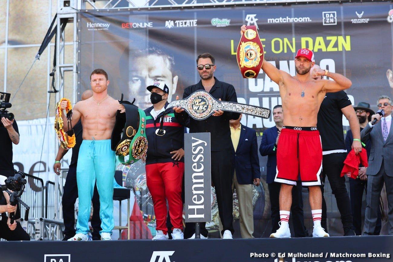 Billy Joe Saunders, Canelo Alvarez, Roy Jones Jr. - Boxing News