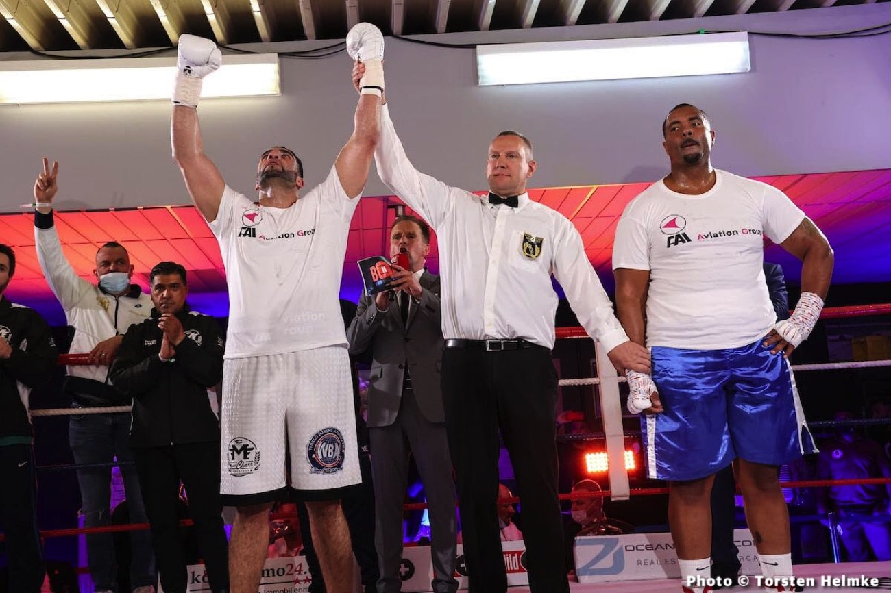 Christopher Lovejoy, Manuel Charr - Boxing Results