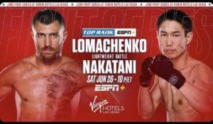 Lomachenko wants to beat Nakatani more decisively than Teofimo