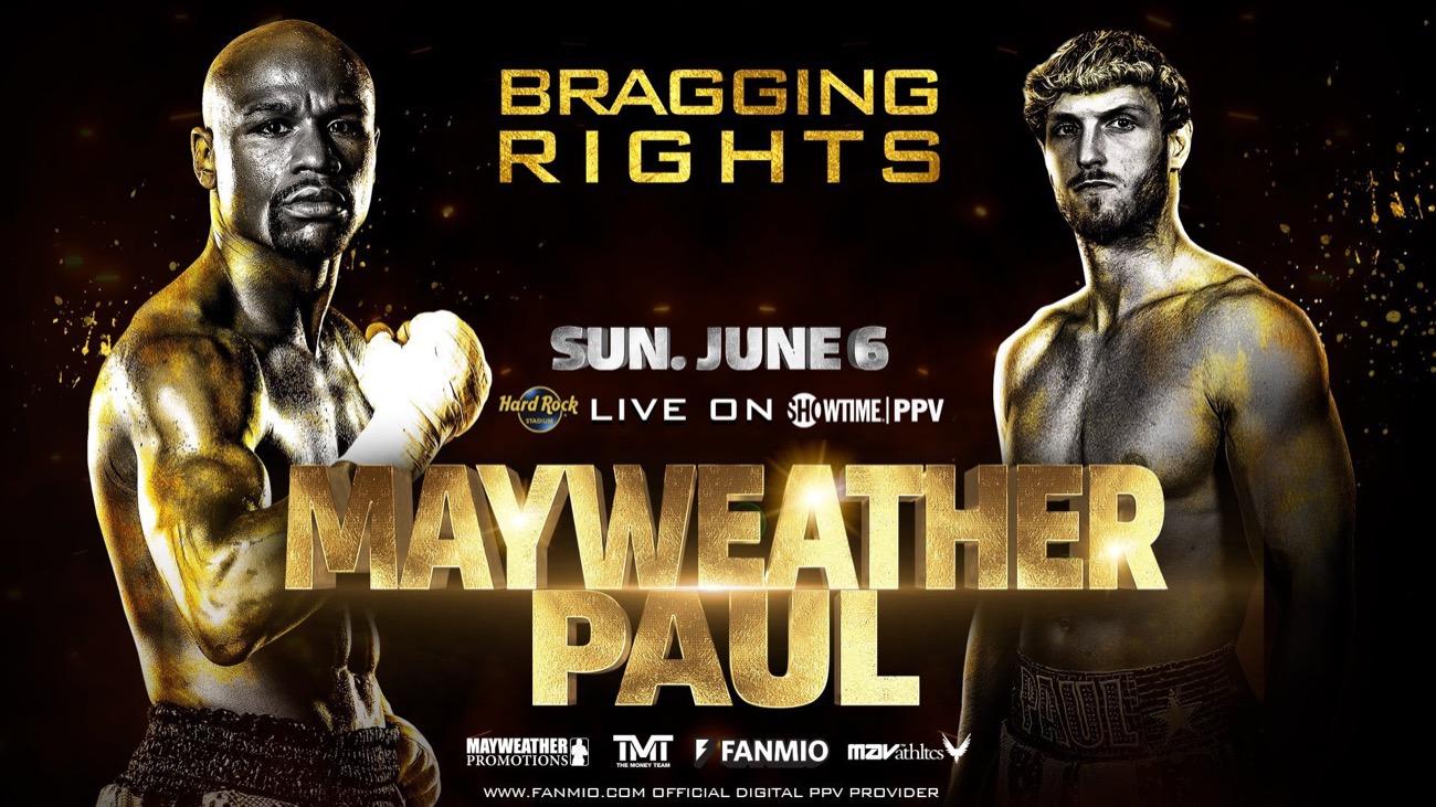 Floyd Mayweather Jr, Jake Paul, Logan Paul - Boxing News