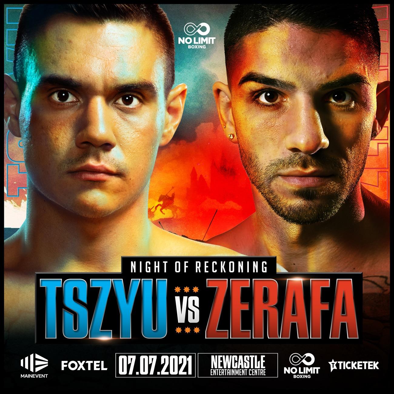 Michael Zerafa, Tim Tszyu - Boxing News