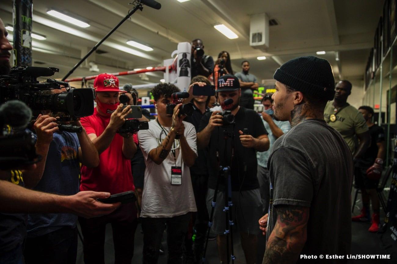 Gervonta Davis, Leonard Ellerbe, Mario Barrios - Boxing News