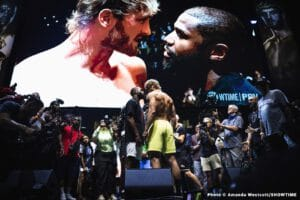 Mayweather says he'll make 50 and a 100 million for Logan Paul fight