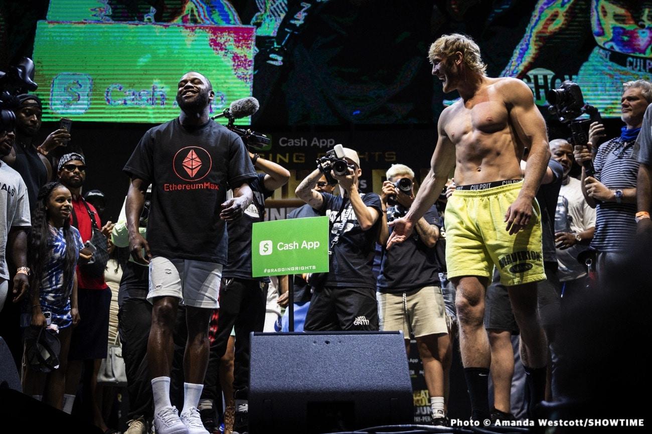 Floyd Mayweather Jr, Logan Paul - Boxing News