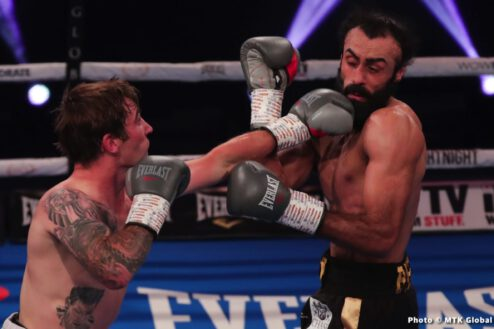 Jay Harris, Ricardo Sandoval - Boxing Results