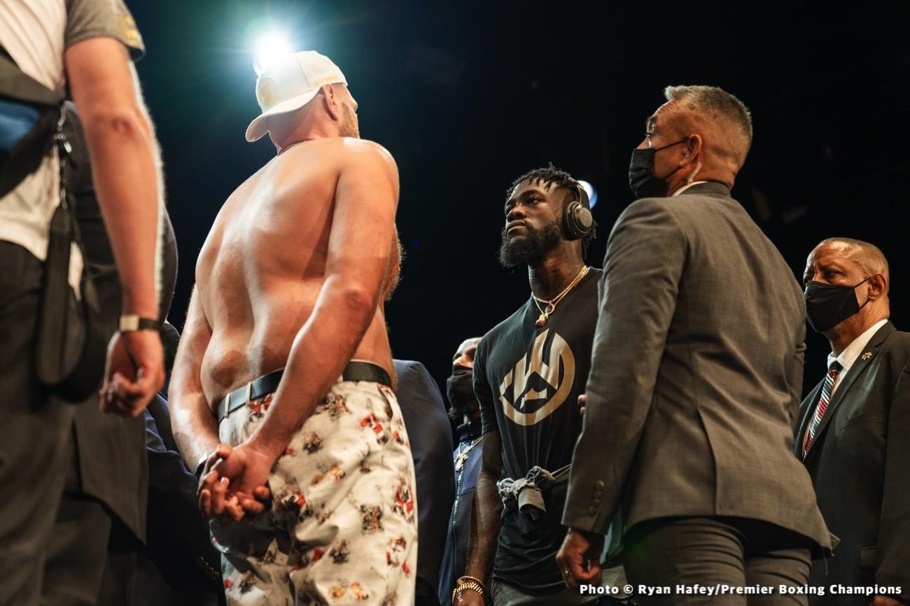 Anthony Joshua, Eddie Hearn, Tyson Fury - Boxing News