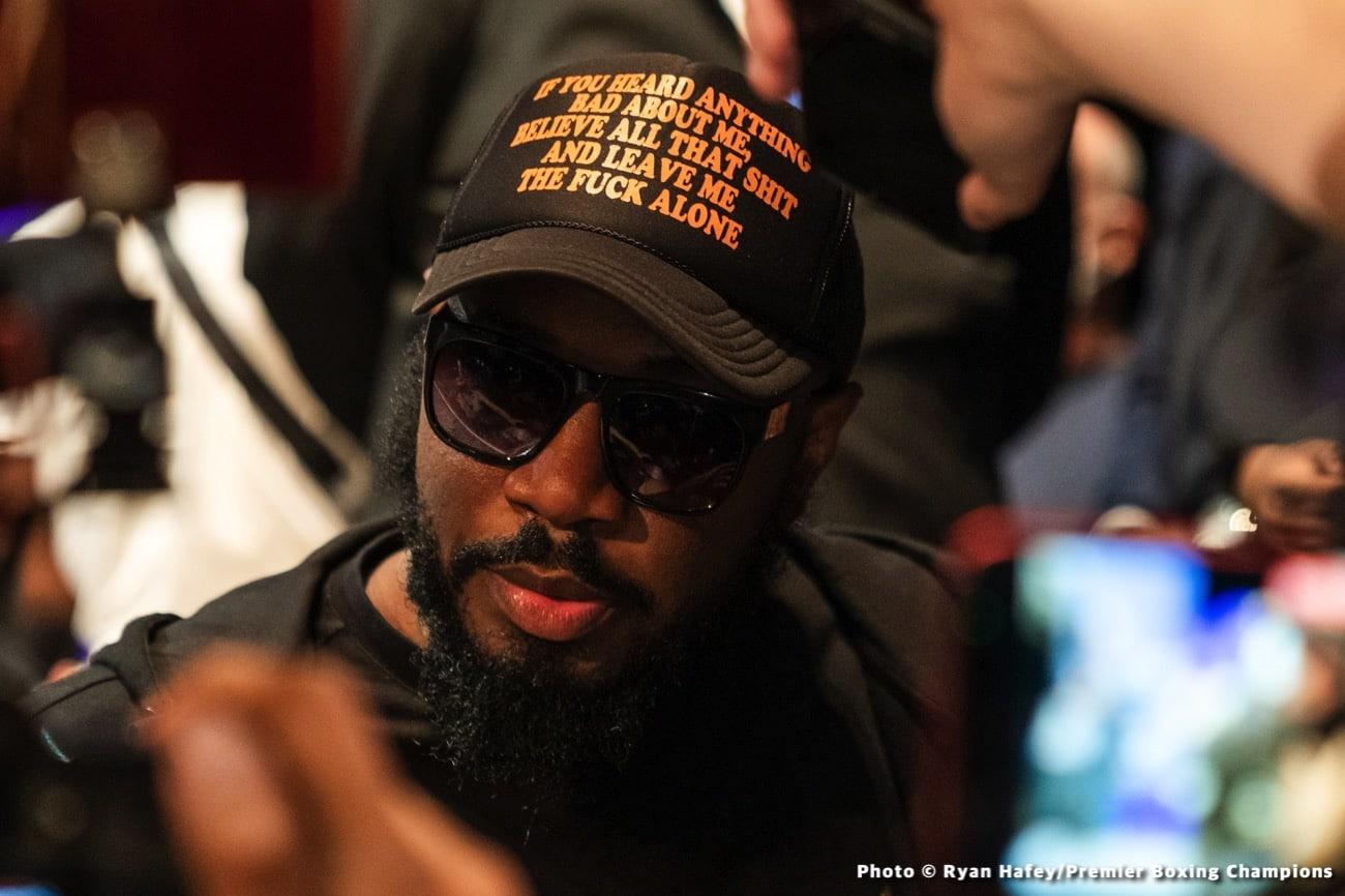 Deontay Wilder, Malik Scott, Tyson Fury - Boxing News