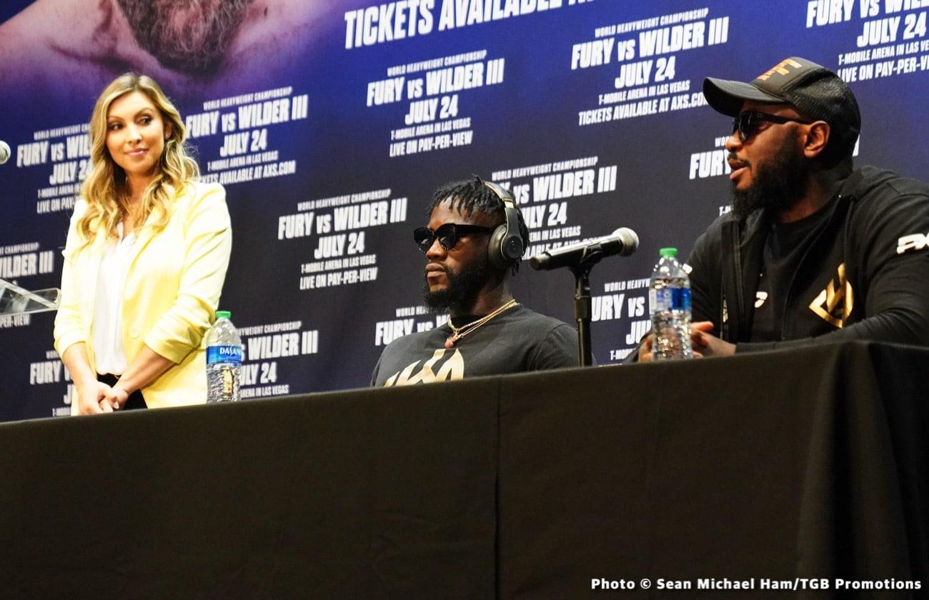 Alexander Usyk, Deontay Wilder, Eddie Hearn, Tyson Fury - Boxing News