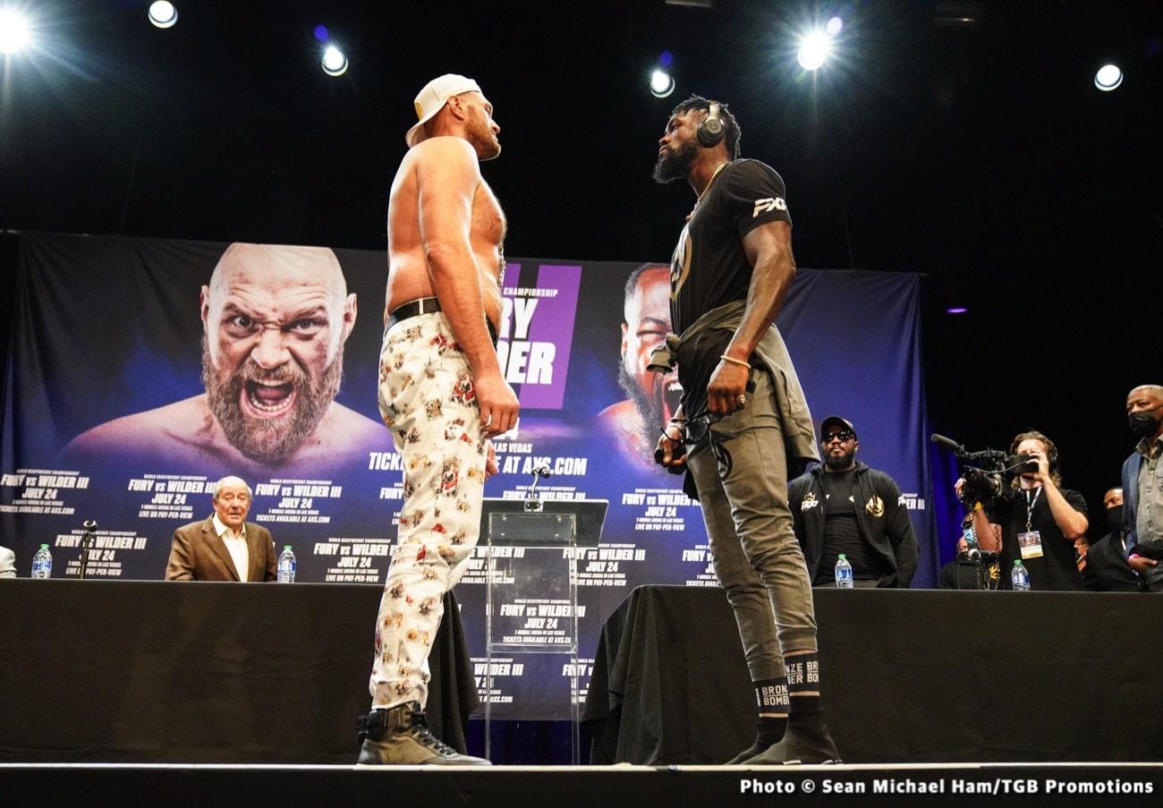 Anthony Joshua, Deontay Wilder, Tyson Fury - Boxing News