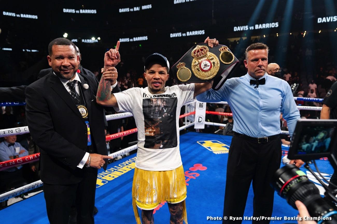 Chris Colbert, Gervonta Davis, Roger Gutierrez - Boxing News
