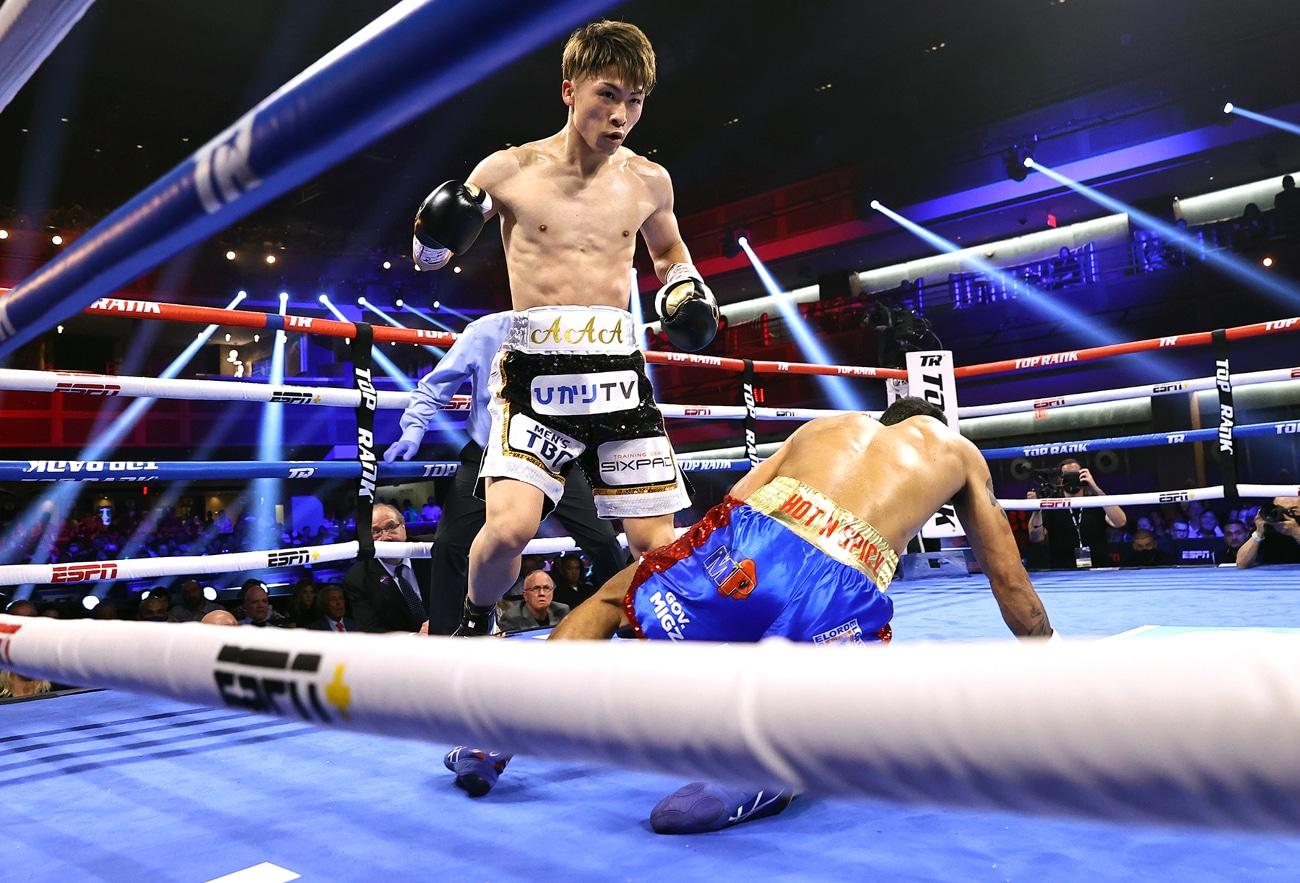Michael Dasmarinas, Naoya Inoue, Nonito Donaire - Boxing News