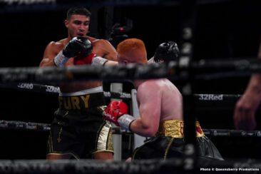 Bogdan Dinu, Daniel Dubois, Jordan Grant, Tommy Fury - Boxing News