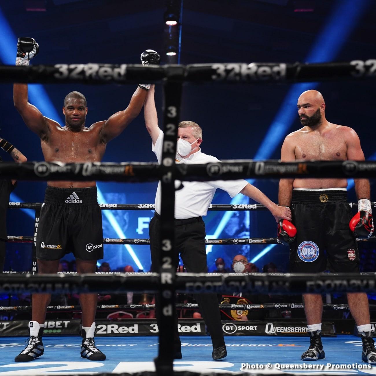 Daniel Dubois - Boxing News